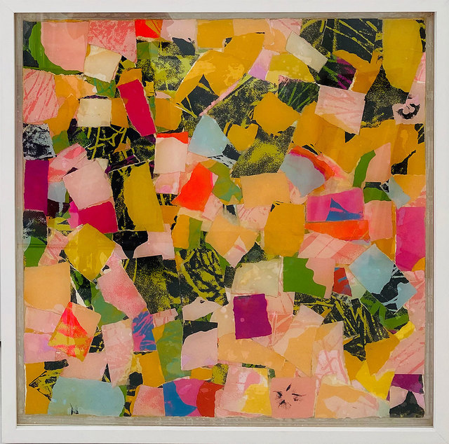 , 'What Happened To The Flowers -Homage to Andy Warhol,' 1970, Robert Fontaine Gallery