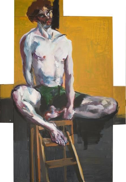 , 'Ilko sitzend,' 2016, Albertz Benda