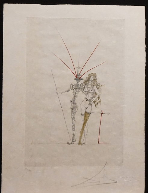 Salvador Dalí, 'Poems Secrets Frontispiece', 1967, Fine Art Acquisitions