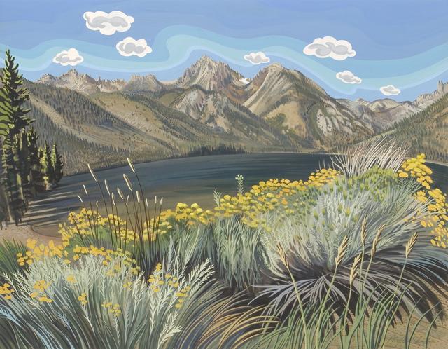 Phyllis Shafer, 'Rabbit Brush Romp', Stremmel Gallery