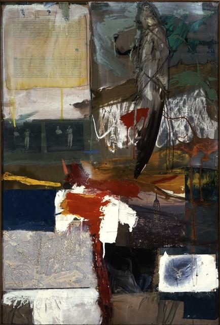 Robert Rauschenberg, 'Painting with Grey Wing', 1959, Robert Rauschenberg Foundation