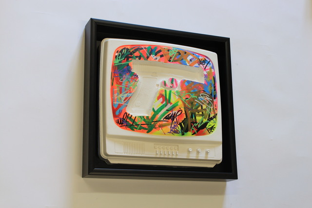 , 'Error TV *Glock Color,' 2016, Modus Art Gallery
