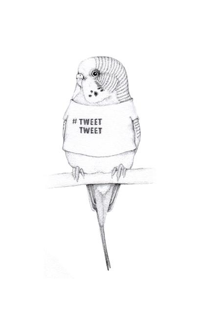 , 'Tweet Tweet,' 2014, Rebecca Hossack Art Gallery