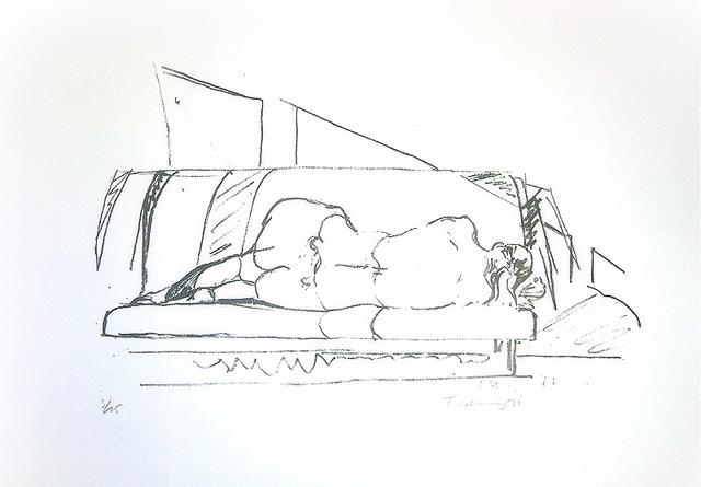 Norbert Tadeusz, 'Rückenakt I', ARTEDIO