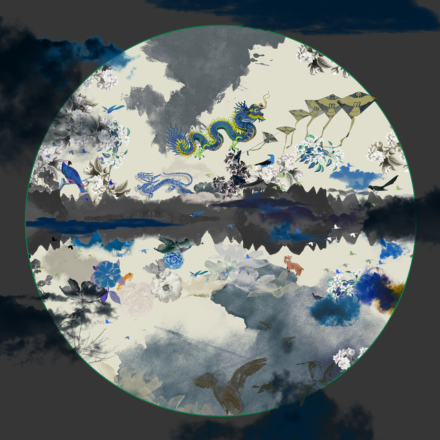 Guang-Yu Zhang, 'Moon', 2015, Print, Digital Print on Hahnemuhle Smooth Fine Art Paper, A.Style