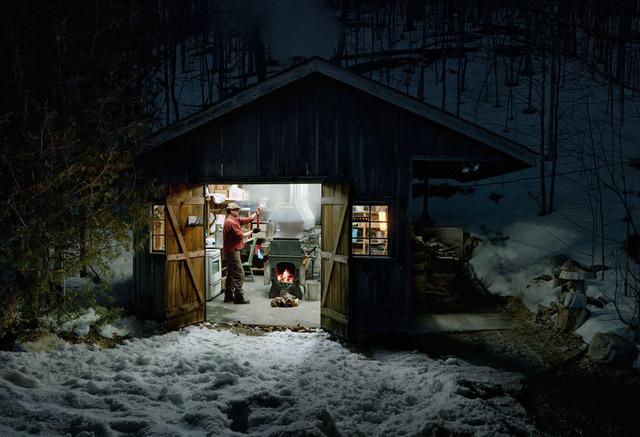 , 'Sugar Shack, Caledon, Ontario (Study 2),' 2013, Division Gallery