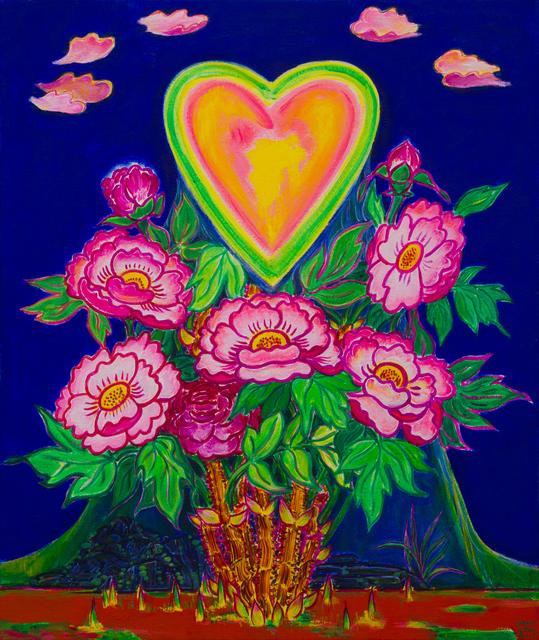 , 'Heart blossomed with the Peony Blossom,' 2013, Soluna Fine Art
