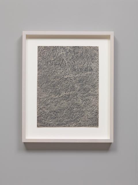 , 'Gray Stone,' 1971, Parafin
