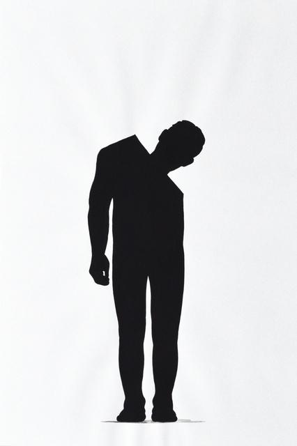 """Stefan Lausch, 'Zeichnungen aus der Reihe """"Schlemihls Schatten""""', 2008, Galerie Reinhold Maas"""