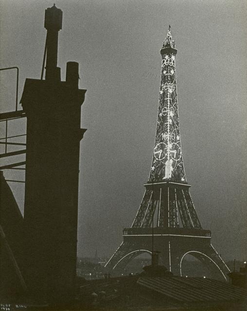 , 'Eiffel Tower at Night,' 1934, Edwynn Houk Gallery