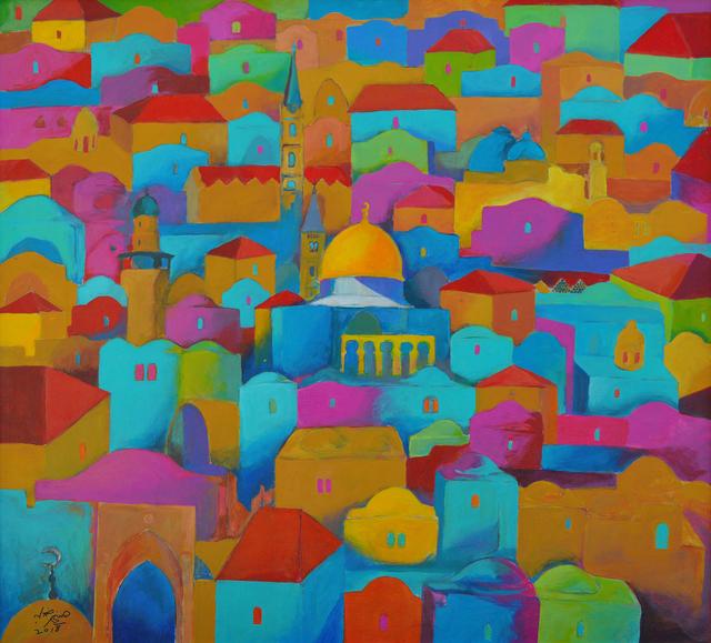 Hosni Radwan, 'Jerusalem #6', 2018, Zawyeh Gallery
