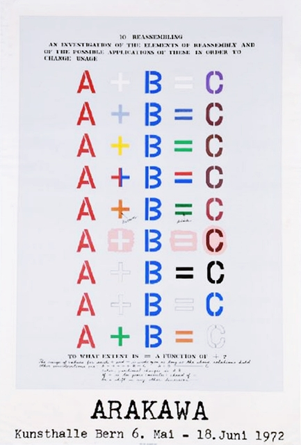 Shusaku Arakawa, 'Arakawa Kunsthalle Bern', 1972, Alpha 137 Gallery