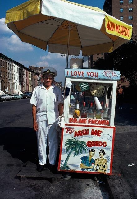 , 'Puerto Rico My Enchanted, Spanish Harlem, NY,' 1987, Galerie Bene Taschen