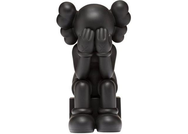 KAWS, 'Passing Through Black 2013 Companion ', 2013, Sculpture, Vinyl painted, Carroll Art