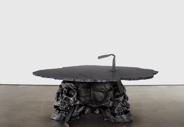 , 'Skull Table,' 2016, Zemack Contemporary Art