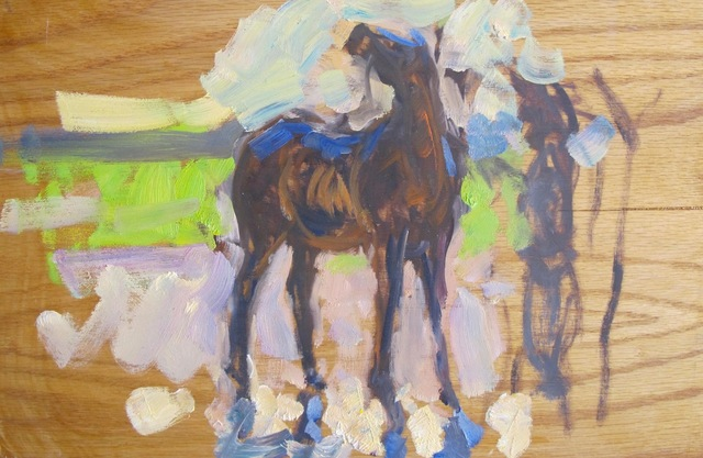 Ben Fenske, 'Horse Sketch', 2014, Grenning Gallery