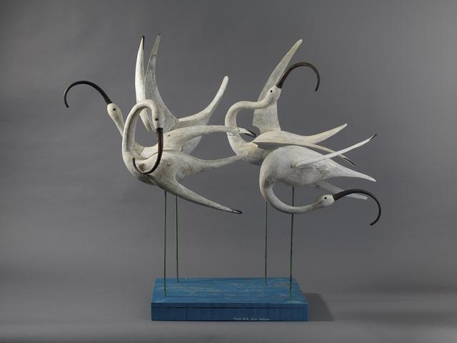 , 'Four Ibis,' , Dowling Walsh