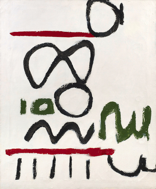 Raymond Hendler, 'Rue de la Ten (No. 12)', 1963, Painting, Magna on canvas, Berry Campbell Gallery
