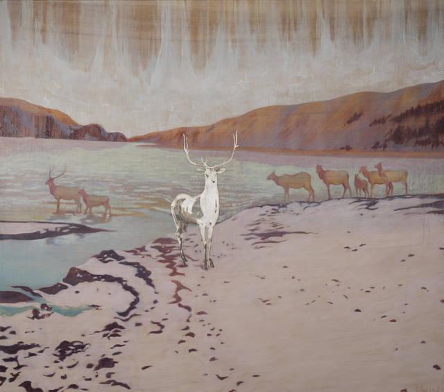, 'Silver Elk,' 2019, InLiquid