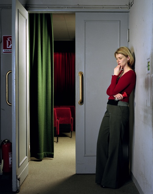 Teresa Hubbard and Alexander Birchler, 'Arsenal, woman at entrance', 2000, Centre for Fine Arts (BOZAR)