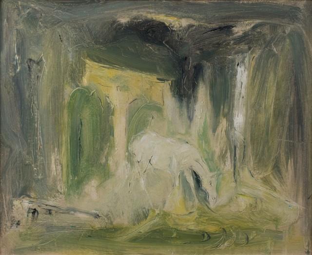 Giovanni Stradone, 'Roman landscape', primi Anni '70, Finarte