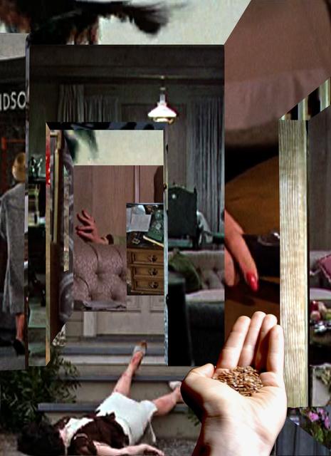 , 'the birds, remake,' 2014, Raum mit Licht