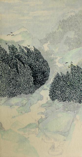, 'Wind, wave and bird,' 2019, ART MORA