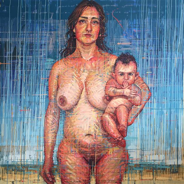 , 'La Madona y la Luna,' , Sirona Fine Art