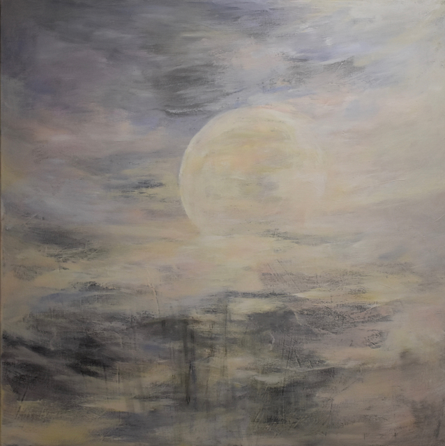 , 'La lune blanche,' 2017, Susan Calloway Fine Arts