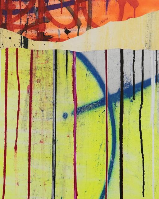 TILT, 'Rips', 2018, Mixed Media, On canvas, David Pluskwa