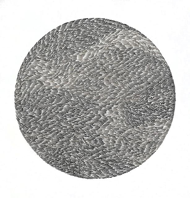 , 'Fur Ball III,' 2019, bo.lee gallery