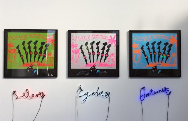, 'Slavery to the Rhythm Installation,' 2015, CIRCA Gallery