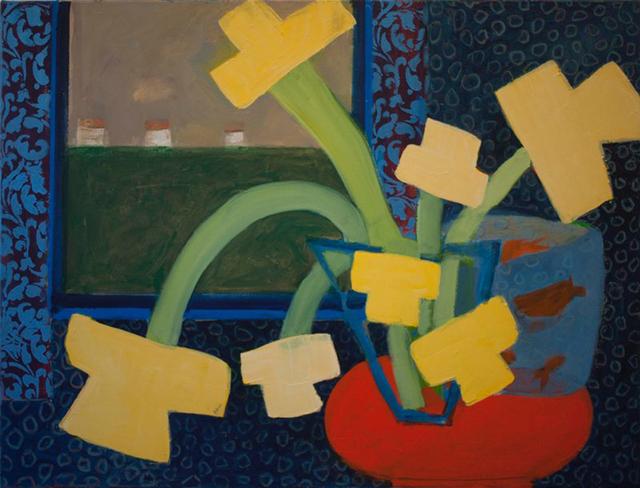 , ' 7 Daffodils,' 2014, Kathryn Markel Fine Arts