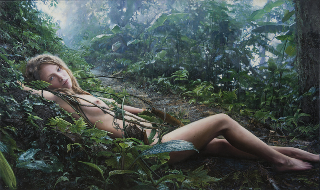 , 'Untitled; Priscilla Lying in the Woods,' 2007, Louis K. Meisel Gallery