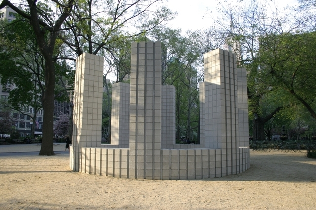 , 'Circle with Towers,' 2005, Madison Square Park