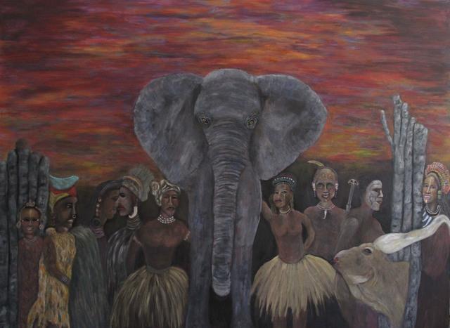 , 'Motherland,' 2018, MRG Fine Art