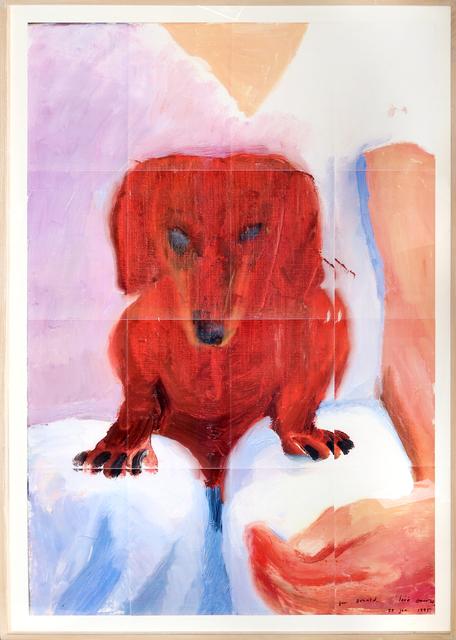 David Hockney, 'Portrait of Stanley', 1995, RoGallery