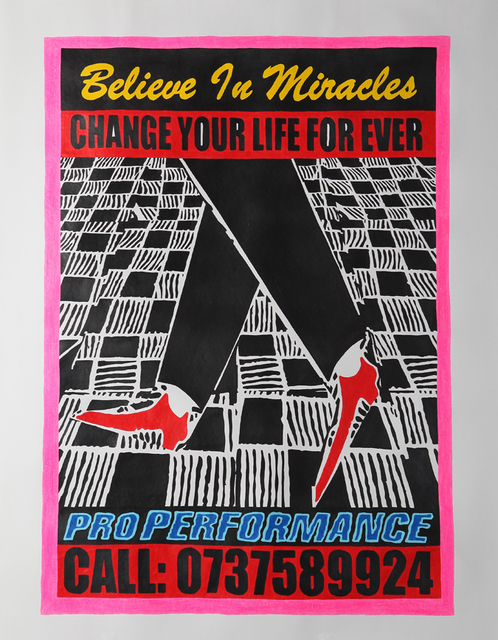, 'Believe In Miracles,' 2012, Galerie Ernst Hilger