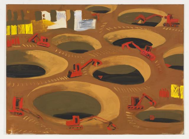 , 'Trichter-Teppich,' 1995, KÖNIG GALERIE