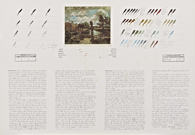 ", 'Analysis of ""Flatford Mill"" (John Constable),' 1980, Henrique Faria Fine Art"