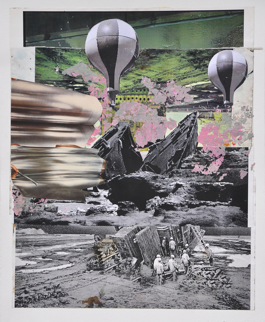, 'Collage #5,' 2016, Mobius Gallery