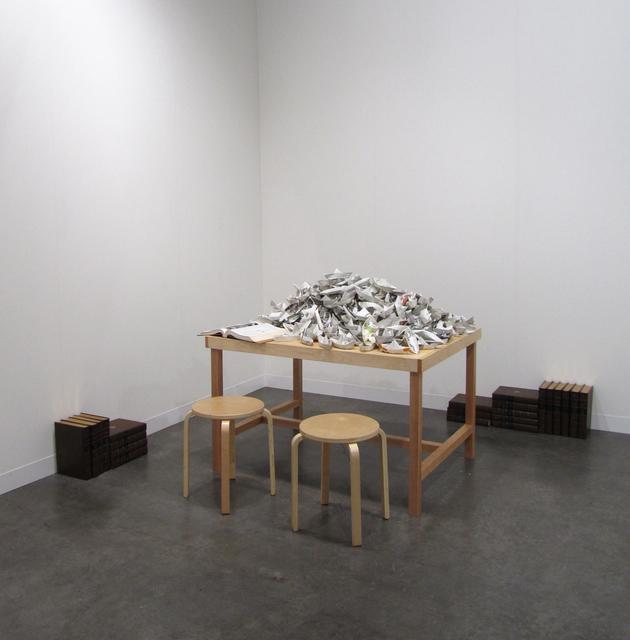 , 'Paper Boats,' 2009, Octavia Art Gallery