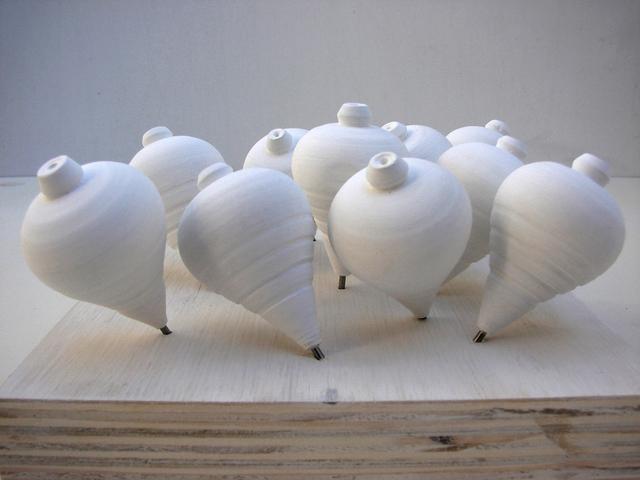 , 'Piões (branco),' 2010, Mercedes Viegas Arte Contemporânea