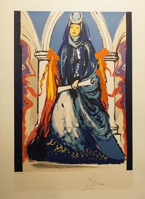 Salvador Dalí, 'Lady Blue ', 1979, Print, Lithograph, Fine Art Acquisitions Dali