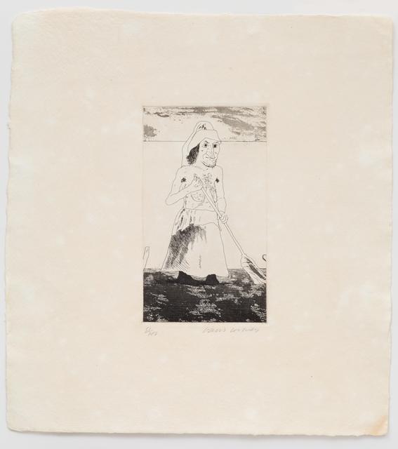 David Hockney, 'The Enchantress in Her Garden', 1969, Cristea Roberts Gallery
