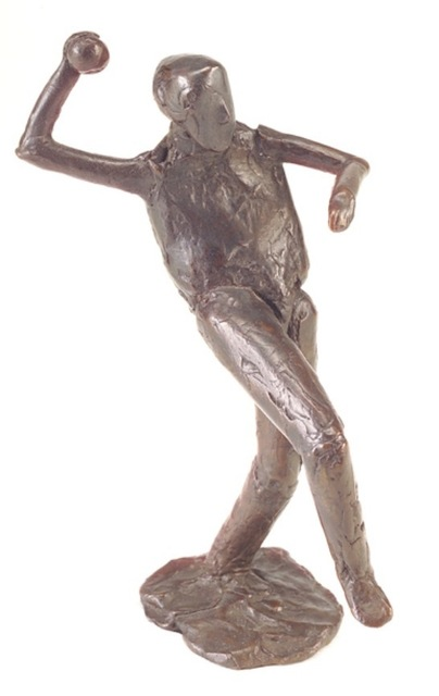 , 'Man Throwing Ball,' 1982, AbExArt