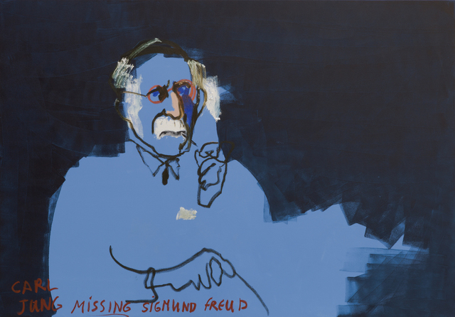 , 'Carl Jung Missing Sigmond Freud,' 2015, Zemack Contemporary Art