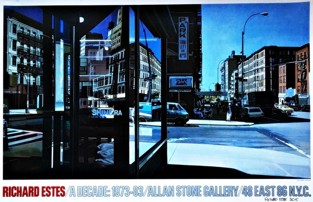 , 'Richard Estes A Decade: 1973-83 (Hand Signed & Dated),' 1983-2015, Alpha 137 Gallery