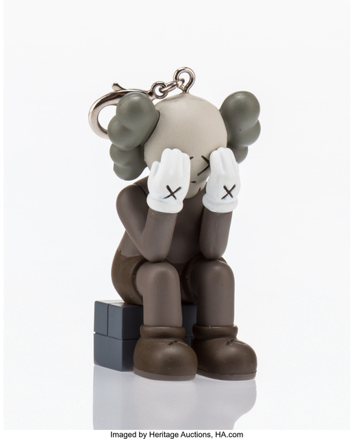 KAWS, 'Companion Passing Through Keychain (Brown)', 2013, Heritage Auctions