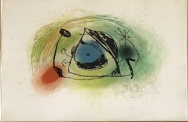 Joan Miró, 'La Musaraigne (The shrew)', 1978, Fairhead Fine Art Limited